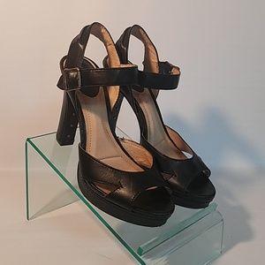 Frye sandal heels